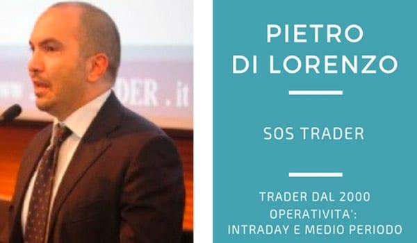 Pietro Di Lorenzo, un SOS per i trader