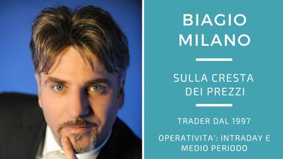 Biagio Milano, vent'anni sulla cresta dei prezzi