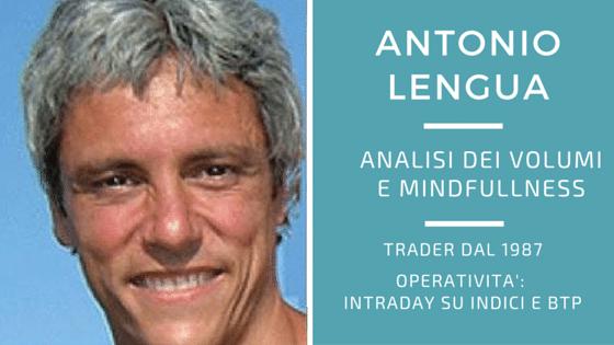Antonio Lengua, studio dei volumi e mindfulness