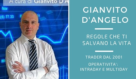 Gianvito D'angelo, le regole nel trading come nel taekwondo
