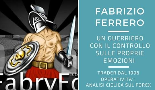 Fabrizio Ferrero, un gladiatore sul forex
